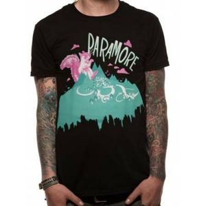 Officially Licensed Paramore Run Squirrel Band Tee